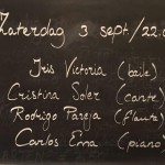 3 SEPTEMBER RESTAURANT DUENDE AMSTERDAM