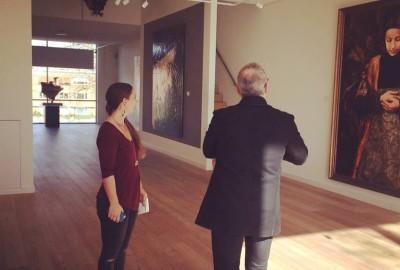 """Opening tentoonstelling """"The Black Tulip"""" Lita Cabellut"""